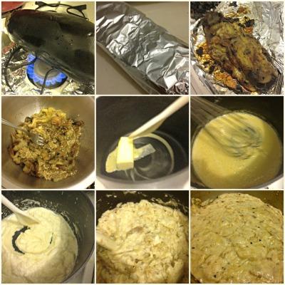 Eggplant process
