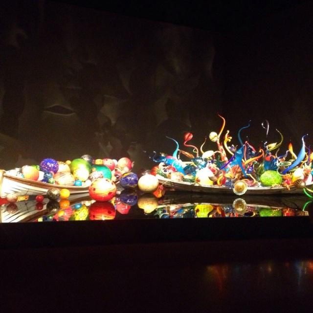 Indoor sculpture