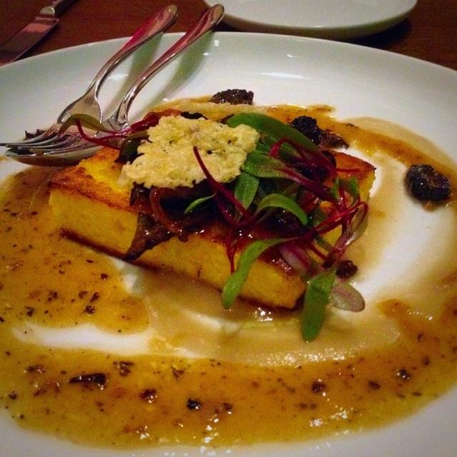 seared polenta